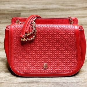 Women's Tory Burch Red Adjustable Shoulder Bag